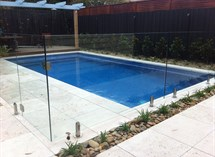 Swimming pool and paving in McKinnon Great Ocean Pools