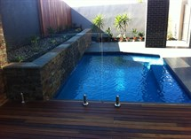 Glass pool fencing swimming pool in Highton Great Ocean Pools