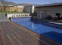 Pool and pavillion in Malvern Great Ocean Pools
