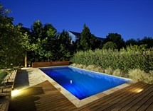 Canterbury Swimming Pool and Landscape lighting Great Ocean Pools