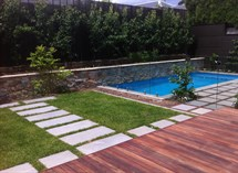 swimming pool and decking landscape Great Ocean Pools