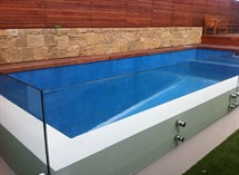 Glass swimming  pool tiles in Torquay Great Ocean Pools
