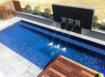 Swimming pool with 3 jet water feature Great Ocean Pools